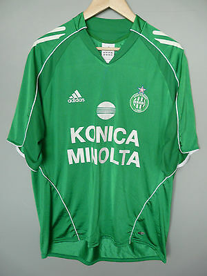 Vintage St Etienne Adidas 2005 Home Football Shirt Trikot Jersey Sz Large