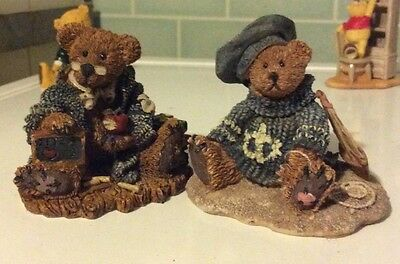 boyds bears 1993 christian by the sea and wilson the perfesser