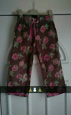 girls mini boden trousers �� age 4-5 years