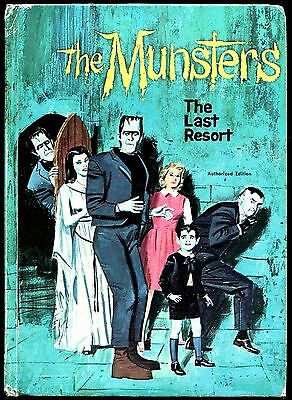 The Munsters The Last Resort 1966 Vg+ Authorized Edition! Sweet!