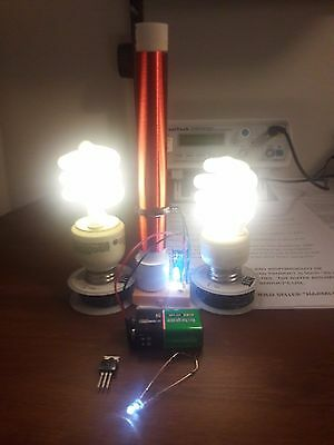 Fully Assembled Mini Tesla Coil Slayer Exciter Made in U.S.A