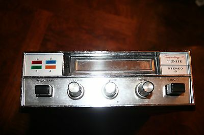 Vintage Craig Pioneer Car Stereo 8 Track Tape Player 3108-A Made In Japan