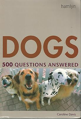 Book On Dogs 500 Questions Answered