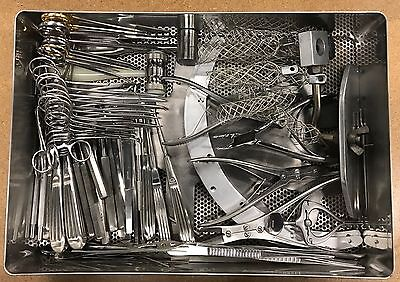 Aesculap, Zimmer 74 Piece Ortho Hand Surgical Instrument Set