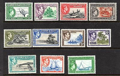 Gilbert and Ellice islands (953) 1939 King George V1 set to 2/6d very lightly mo