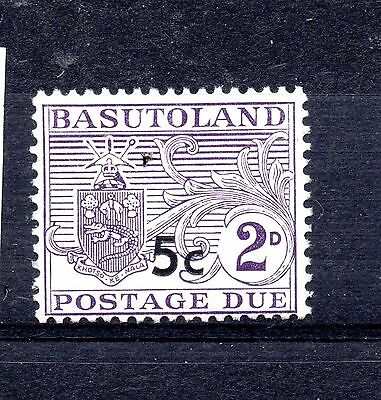 Basutoland (901)  1961 1961 Postage Due  5 c on 2d type 11 very lightly mounted