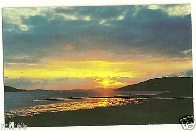 Postcard - Sunset At Ullapool - Unposted