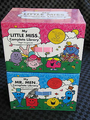 My Mr Men & Little Miss Complete Library - Roger Hargreaves New Sealed 82 Books