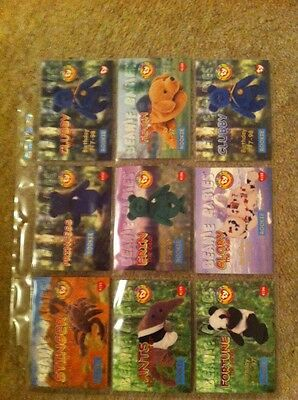 Ty Collector's cards - Rookie cards - red