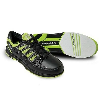 """Brunswick Mens Shoes Size 9M-""""ARROW""""-Lime & Black-New In Box-Free Ship-No Defect"""
