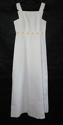 Lovely original 1960s vintage wedding dress hippie luxe size 8 daisy chain