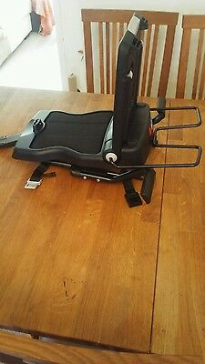 Children's bicycle rear seat