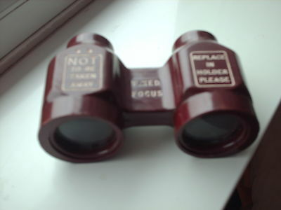 Bakerlite opera glasses believed to come from a defunct London theatre
