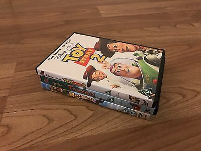 Selection Of Kid's Animated DVDs (Toy Story 2, Tarzan, Madagascar)