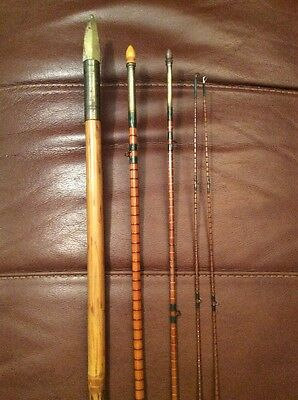 Vintage Army and Navy Co Fly Rod with Salmon Spear