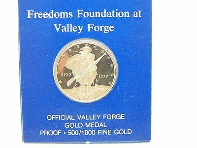 Franklin Mint Freedoms Foundation at Valley Forge Gold Coin Fine Gold