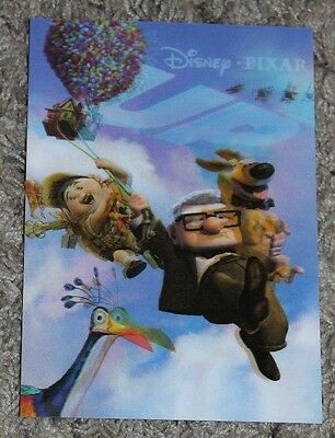 UP Disney Movie Club 3D Lenticular Collector's Card LIMITED EDITION
