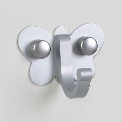 Butterfly Style Bathroom Bedroom Mounted Clothes Coat Towel Hook Hanger