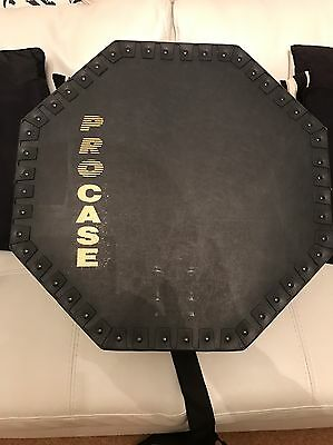 "PROCASE Octagonal Hard Drum Case 18.5 ""x 11"" inches"