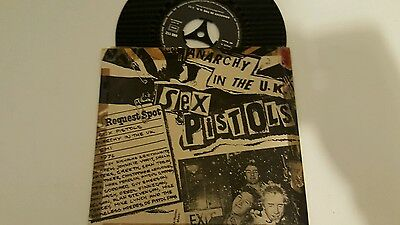Sex Pistols Anarchy In The U.k. French Vinyl. Home Made Cover