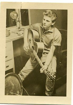 Original 1950s fan club photo of Phil Everly of the Everly Brothers