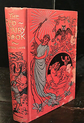 RED FAIRY BOOK, Ed. ANDREW LANG, Early Edition 1910 - Ford, Speed Illustrations