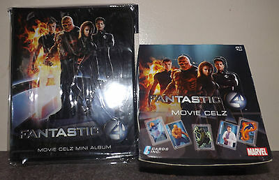 Cards Inc FANTASTIC FOUR trading cards 36 pack box & official binder