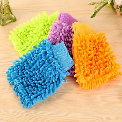 Large Valeting Gloves 1 Pcs Microfiber New Super Car Cleaning Wash Chenille