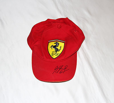 Michael Schumacher Signed Ferrari Formula One Cap with COA