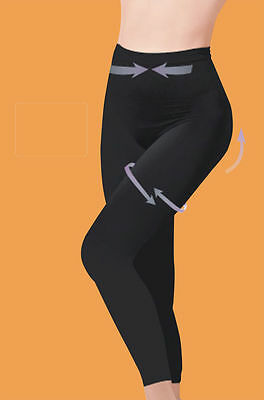 Control Slimming Shapewear Leggings Seamless High Waisted Tummy Support S-3XL