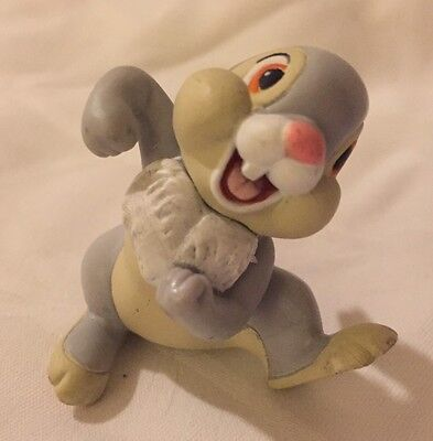 """Happy Dancing Thumper Bambi Disney Collectible Figure 2"""" Cake Topper"""