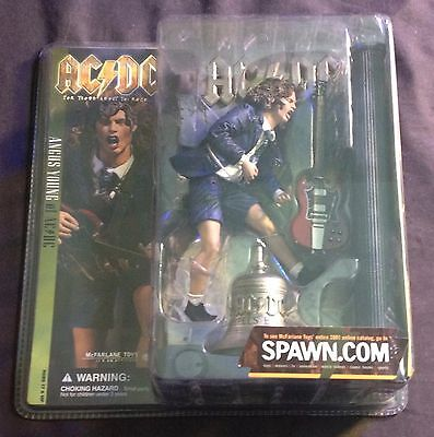 McFarlane Spawn ACDC Angus Young For Those About To Rock Hell's Bells Figure MIB