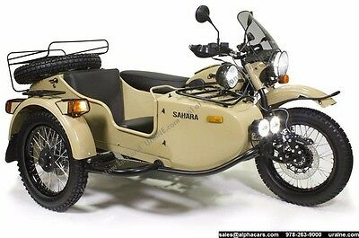 2016 Ural Gear Up 2WD Sahara Off Road Custom  Off Road Ready 2WD Brembo Brakes Loaded Brand New Financing & Trades