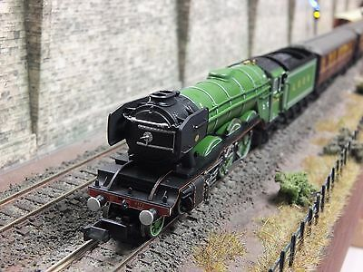 2S-011-005 Dcc Sound Dapol A3 Flying Scotsman 4472 Lner Apple Green Train Pack