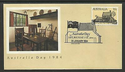 AUSTRALIA 1984 AUSTRALIA DAY CAPTAIN COOK COTTAGE 1v FDC Pictorial Postmark