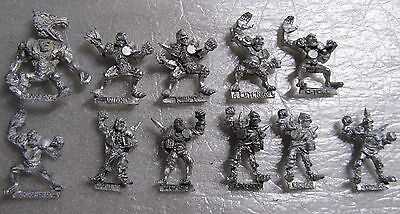 Blood Bowl undead necro wight werewolf ghoul zombie skeleton multi listing