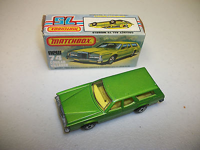 Lesney 1974 Cougar Villager with Box