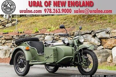 2010 Ural Gear Up 2WD Military Green  Fully Serviced Ready for the Road Loaded with options Financing & Trades