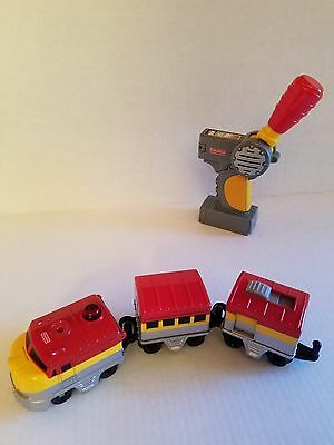Fisher price train geotrax Pacific Chief train Tested very nice!