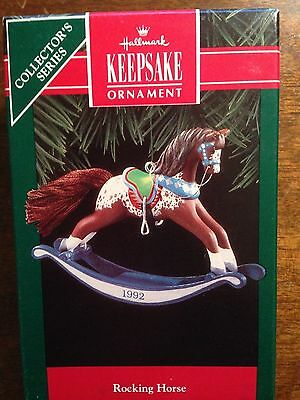 Hallmark 1992 Rocking Horse # 12 In Series