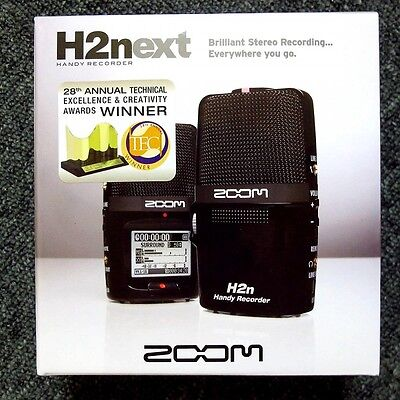 ZOOM H2n Handy Portable Recorder Digital Audio Linear PCM H2Next New F/S