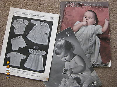 PATONS   BABY KNITTING  BOOKS   -   Photos