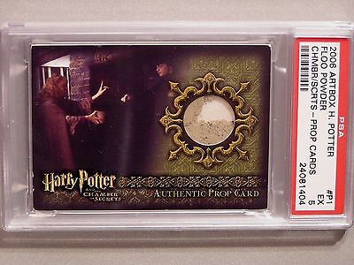 Harry Potter-COS-Graded-Authentic-Prop Card-Floo Powder-P1