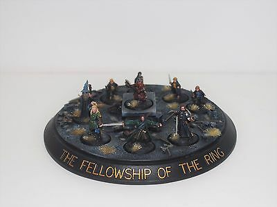 Lotr - Fellowship Of The Ring - Balins Tomb - Painted Metal - Warhammer