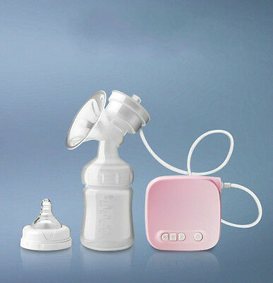 Advanced With USB Single Electric Breast Pump New Baby Infant Feeding Bottle ON
