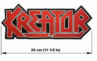 KREATOR logo BACK PATCH embroidered NEW