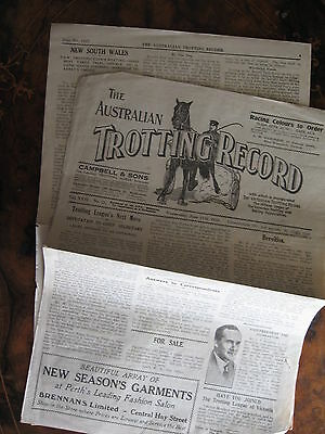 The Australia Trotting Weekly      HALF OF 2 COPIES