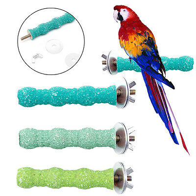 Pet Bird Chew Paw Grinding Toys Parrot Harness Cage Budgie Clean Tool 2*8cm