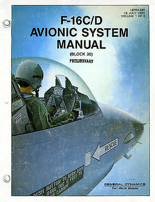 F-16C Block 30 Avionics Manual DVD, F-16