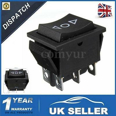 12V 6-Pin DPDT Momentary CAR POWER ELECTRIC WINDOW SWITCH UP DOWN AERIAL -UK